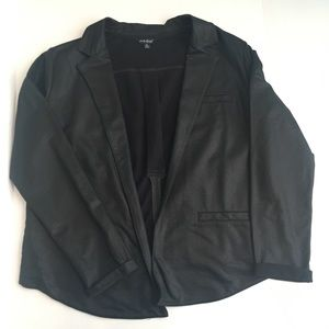 Lucky brand lightweight cotton Moto blazer